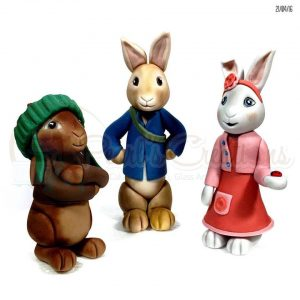 Peter Rabbit and Gang